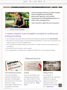 Featured Services в iPad
