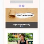 Главная страница в iPhone 6 Plus