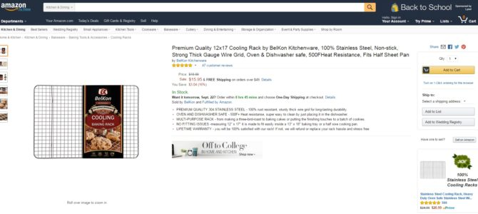 Продающий текст на английском для Amazon