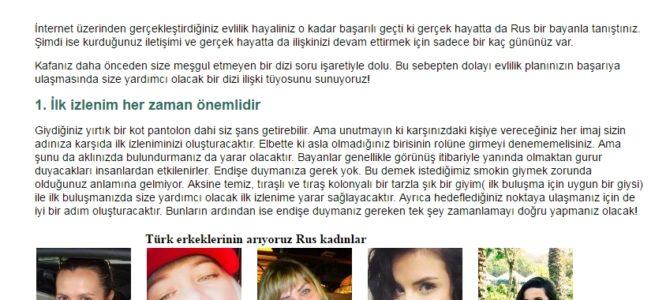 Контент на турецком: как общаться с девушкой на свидании