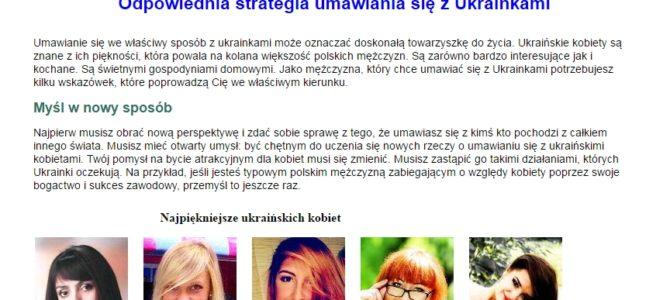 Копирайтинг на польском: правильная стратегия ухаживаний за украинками