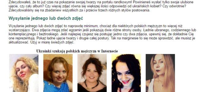 Копирайтинг на польском: сколько фотографий размещать в профайле на сайте знакомств?