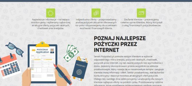 Копирайтинг на польском для компании по микрокредитам