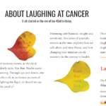 Laughing at cancer paypal in the section about book
