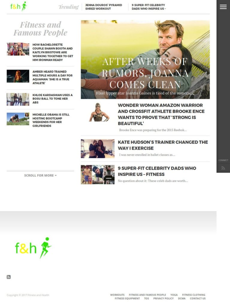 Fitnesshealth - страница категории