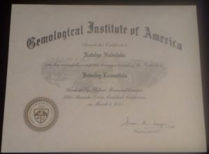 Jewelry Essentials Certificate