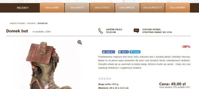 Копирайтинг на польском для Интернет-магазина шоколадных изделий
