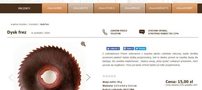Копирайтинг на польском: строительные инструменты в шоколаде