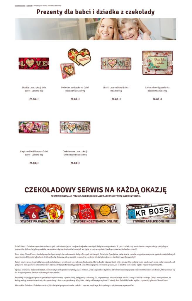Описание категории Dzień Babci i Dziadka