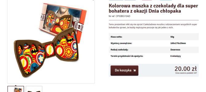 SEO-копирайтинг на польском для Интернет-магазина: категория товаров Dzień Chłopaka