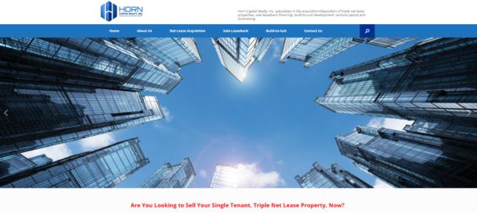 Сайт для агентства коммерческой недвижимости из Майами