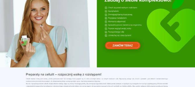 Медицинский копирайтинг на польском: биологически активные добавки от целлюлита