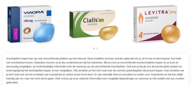Копирайтинг на голландском: главная страница для медицинского сайта