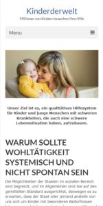 Kinderwelt на мобильном устройстве Pixel 2XL